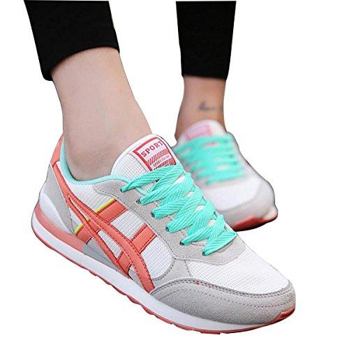 casual da donna scarpe sportive da donna traspirante netto scarpe da corsa/da viaggio, misura 35–39 1