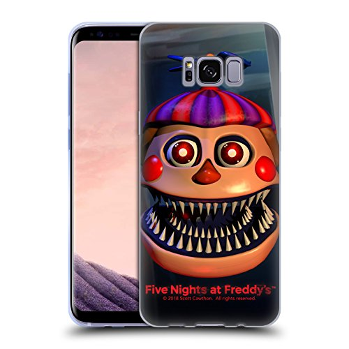 Official Five Nights At Freddy's Nightmare Balloon Boy Game 4 Soft Gel Case for Samsung Galaxy S8