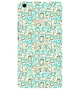 Chiraiyaa Designer Printed Premium Back Cover Case for Xiaomi Mi Max (pattern texture square rectangle) (Multicolor)