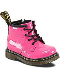 Dr.Martens Brooklee Pink Patent Leather Infants Boots