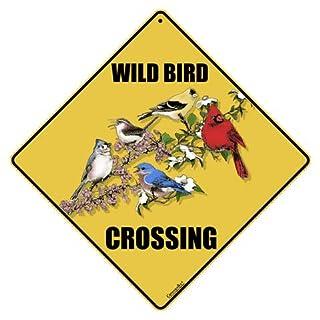 American Science & Surplus Wild Bird Crossing Sign