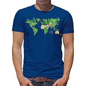 Touchlines Merchandise – Camiseta – Cuello Redondo – para Hombre