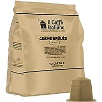 FRHOME - 50 Capsule Creme Brulèe - Compatibili con Macchine da caffè Nespresso Il Caffè Italiano