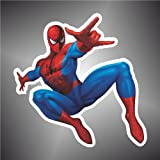 Aufkleber - Sticker spider spinne man comics cartoon Zeichentrickfilm sticker