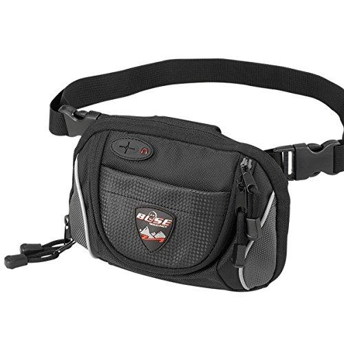 Büse / Gürteltasche klein - Motorradtasche in schwarz Artikelfarbe / schwarz