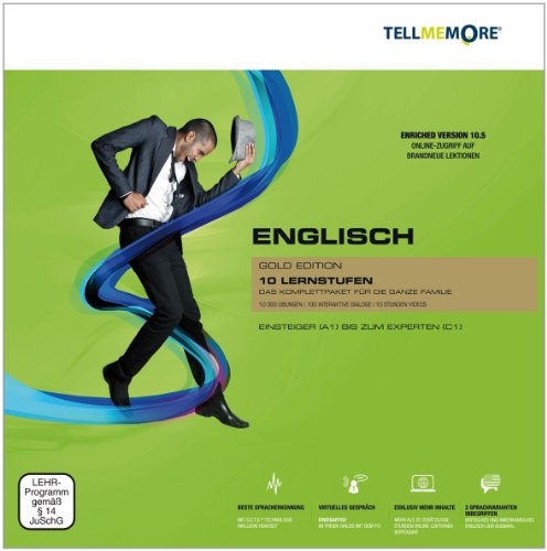 Tell me More 10.5 - Englisch - Gold Edition