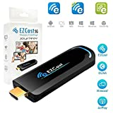 Enjoyall Dispositif sans Fil De Miroir D'écran, Adaptateur d'affichage WiFi Média HDMI 1080p Diffusion en continu du Stick TV Prise en Charge de l'application EZCast, Airplay, DLNA, MiraCast
