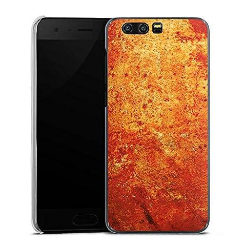Huawei Honor 9 Hülle Case Handyhülle Rost Struktur Look (Leichter Rost Matt)