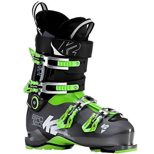 K2 BFC 120 Skistiefel 10B2000 Black/Green/Grey Gr. 28.5