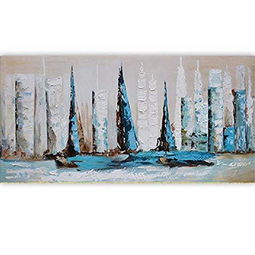 xxiaohh Puzzle 1000 Teile Erwachsenen Puzzle Landschaft Boot Bei Sonnenuntergang In Fendi Bay Pädagogisches Puzzle Home Decor Geschenk -