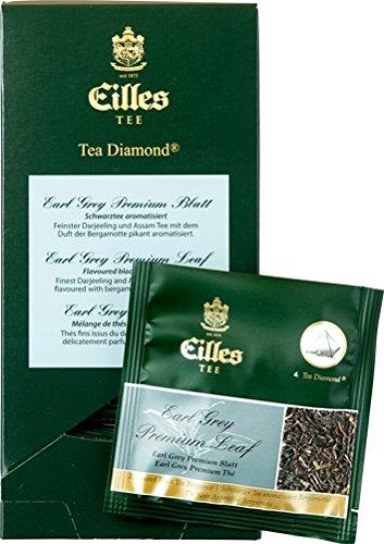 Eilles Luxury World Selection Tea Earl Grey Premium Blatt – 20 Tea Diamonds einzelverpackt