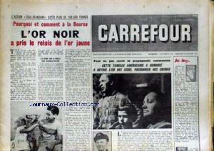 CARREFOUR [No 541] du 26/01/1955 - L'ACTION ES...