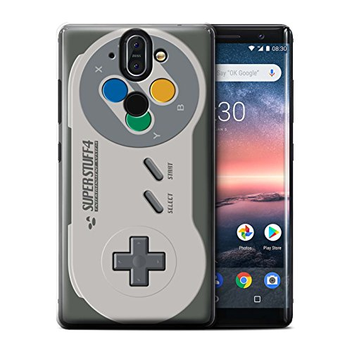 Sirocco Kollektion (Stuff4® Hülle/Case für Nokia 8 Sirocco 2018/Super Nintendo Muster/Spielkonsolen Kollektion)