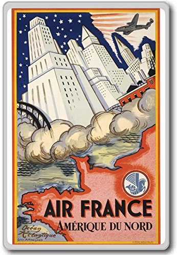 air-france-amerique-du-nord-ocean-atlantique-vintage-travel-fridge-magnet-calamita-da-frigo