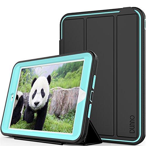DUNNO Weiß iPad Mini Fall DREI Schicht schwere Pflicht Full Body Schutz Stand Cover Case für Apple iPad Mini 1/2/3