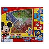 DISNEY MICKEY MOUSE CLUBHOUSE POP-UP GAME & MEMORY MAKER (2 IN 1 GAME SET) by Disney