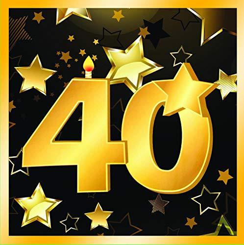 Forum Novelties-40th Birthday Napkins 13
