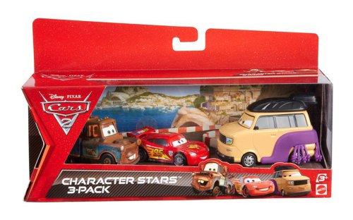 disney-cars-2-juego-de-3-coches-en-miniatura-luchador-de-sumo-mate-y-rayo-mcqueen-mattel-v6749
