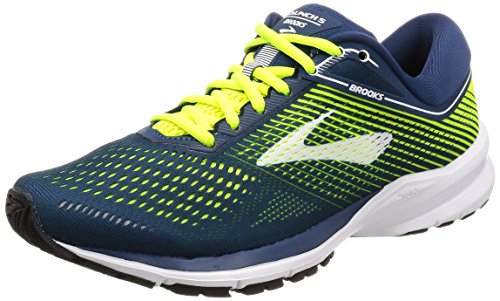 Brooks Launch 5, Zapatillas de Running Para Hombre, Multicolor (Blue/Nightlife/White 1d430), 45 EU