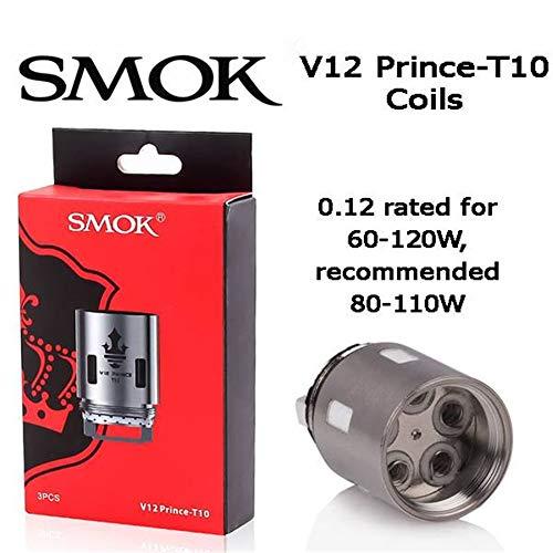 Smok Prince TFV12 (V12 - Prince T10) Evaporatore 0.12ohm Confezione da 3