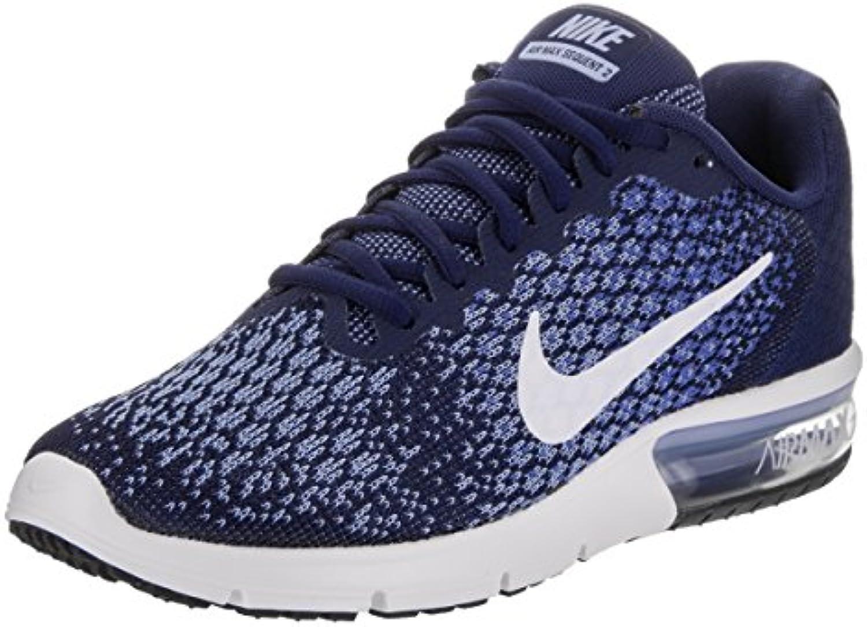 Nike Wmns Air Max Sequent 2 – – – Binario blu bianca-Comet blu di a, MultiColoreeee, 6 | Prezzo di liquidazione  25a9df