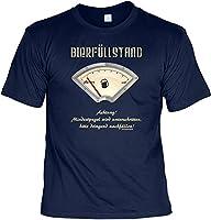 Proverbes T-shirt avec le titre Proverbes T-shirt humoristique la bière remplissage FB (bleu marine) en 100% coton. La matière du longues est 100% coton (gris chiné t-shirts: 85% coton, 15% viscose). Poids du tissu 155g/m². - Pour le cou pour un c...