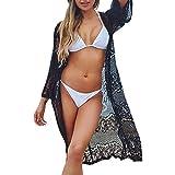 Amphia - Sonnenbrillen-Bikini-Bluse aus Strandperspektive - Damenmode Print Badeanzug Bikini Bademode Strand Badeanzug Kittel