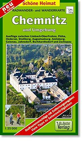 Doktor Barthel Wander- und Radwanderkarten, Wander- und Radwanderkarte Chemnitz und Umgebung (Schöne Heimat)