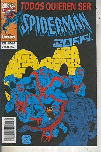 Spiderman 2099 volumen 1 numero 08