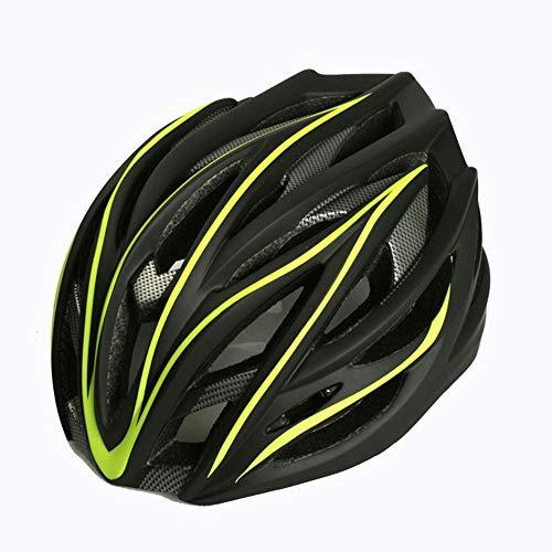 LPC Fahrrad Mountainbike Integrierter Reithelm Extremsport Rollschuh Helm Für Männer Und Frauen Mode (Color : Yellow)