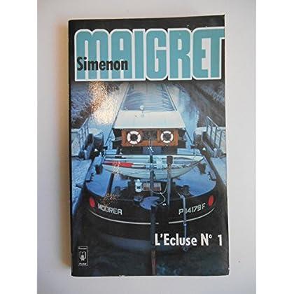 L'écluse N 1 / Simenon / Réf40022