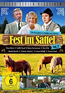 Fest im Sattel, Vol. 2 - Die komplette 2. Staffel (Pidax Serien-Klassiker) [2 DVDs]