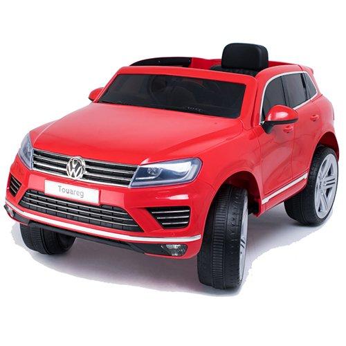 CROOZA - VW Touareg VW Touareg Bluetooth SoftStart Kinderauto Kinderfahrzeug Kinder Elektroauto rot