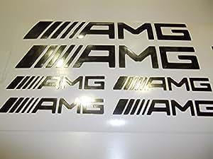 Embleme Logo Sigle Adhesif AMG