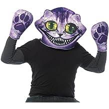 """Leg Avenue 9505""""máscara de espuma y guantes de juego de gato de Cheshire"""" hombres de disfraz (talla única, 2piezas)"""