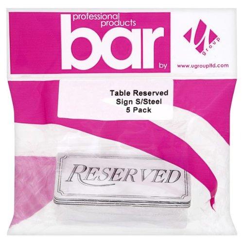 u-groupe-bar-produits-professionnels-tableau-reserves-inscrivez-acier-inoxydable-pack-5