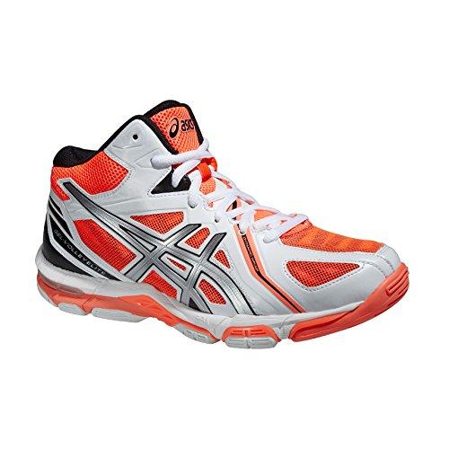 Shoes GEL-VOLLEY ELITE 3 MT AQUARIUM/WHITE/FLASH CORAL 16/17 Asics WHITE / SILVER / HOT CORAL