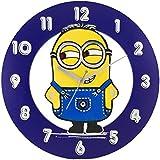 Art of East / Minions 3 Kids Cartoon Wooden Wall Clock for Home