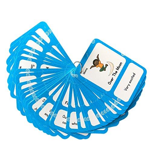 petsola Englisch Basiswortschatz Karteikarten Set Für Kinder - 32Pcs Card-Idiom (Idiom Für Kinder)
