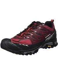 Boreal Alligator - Zapatos deportivos para hombre, color gris con rojo, talla 7
