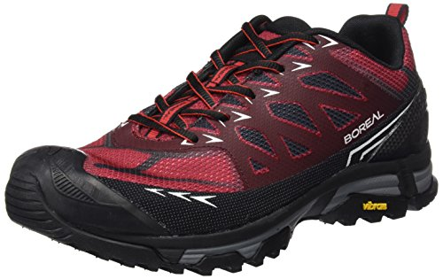 Boreal Alligator - Zapatos Deportivos para Hombre, Color Gris con Rojo, Talla...