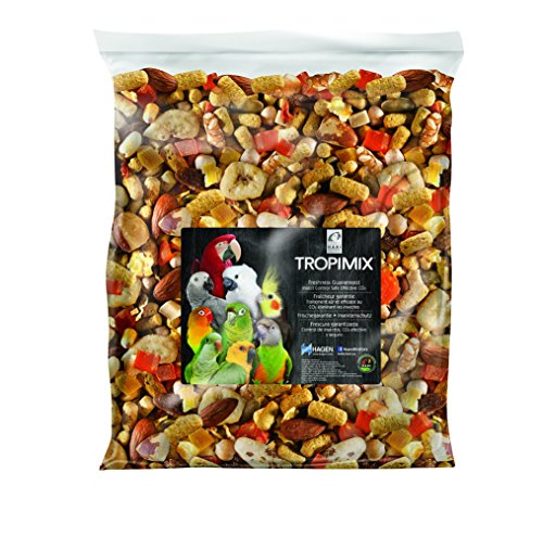 HARI - Mangime per pappagalli - Tropimix per Grandi pappagalli - 9070gr