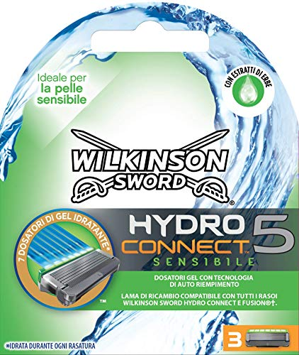 Wilkinson 70030230 Sensitive Hydro 5 Connect - Lote