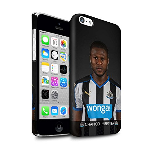 Offiziell Newcastle United FC Hülle / Matte Snap-On Case für Apple iPhone 5C / Pack 25pcs Muster / NUFC Fussballspieler 15/16 Kollektion Mbemba