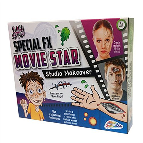 Grafix Special FX Movie Star Make-Up Hollywood Studio Makeover Kit by Silly (Up Make Kits Special Fx)