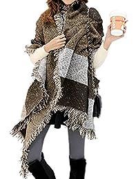da4616e65cf784 FENTI Moda nappe morbido donne sciarpa Pashmina avvolgere scialle Scarf  wrap Shawl grigio