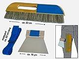 Tapezierwischer-Set, Tapezierbürste, Tapezierspachtel, Tapenenbürste, Tapetenwischer