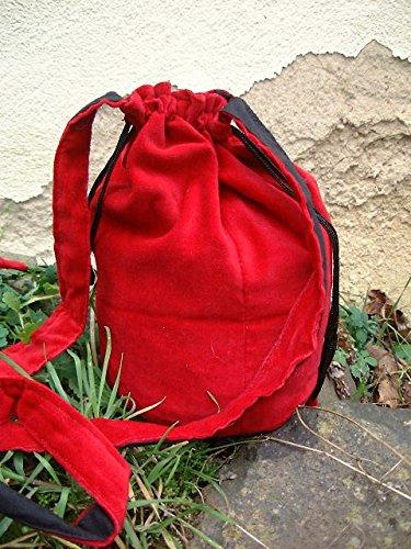 Dark Dreams Gothic Mittelalter Beutel Beutel Tasche Medium , Farbe:schwarz - 2