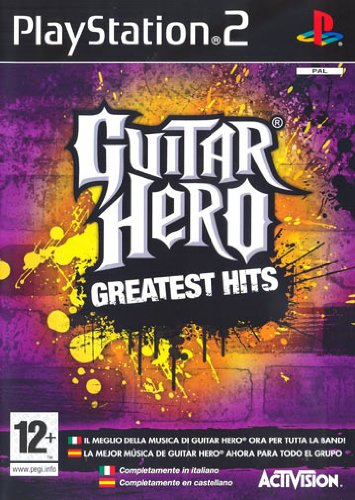 PS2 GUITAR HERO GREATEST HITS (Greatest Hits-ps2)