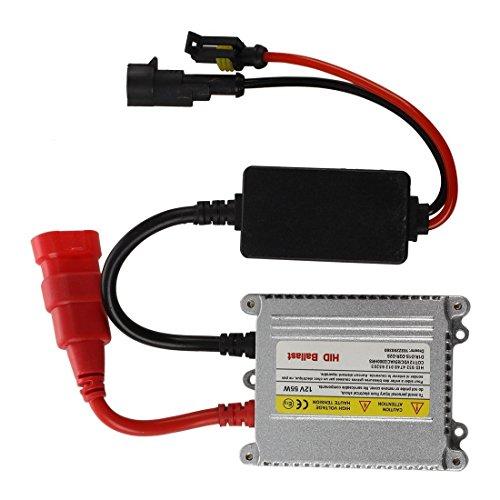 takestop® Steuergerät Vorschaltgerät HID 55W für Kit Xenon Xenon H1H3H7H8H9H119004Kabel Kabel Notebook HID Auto Camper